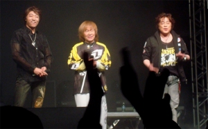 Shinichi Ishihara, Akira Kushida e Takayuki Miyauchi