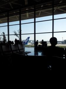 Aeroporto de Narita.