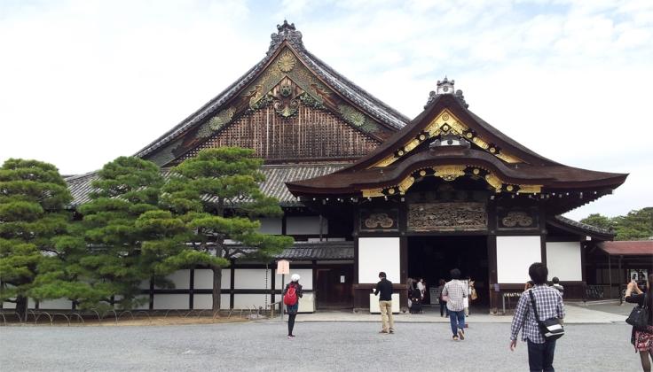 Castelo Nijou, construído em 1626, era onde os homens que comandavam o Japão ficavam hospedados quando visitavam Kyoto.