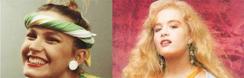 Xuxa e Angélica. Descobertas pela Rede Manchete e lançadas ao estrelato.